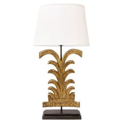 Carved Giltwood Fragment Lamp