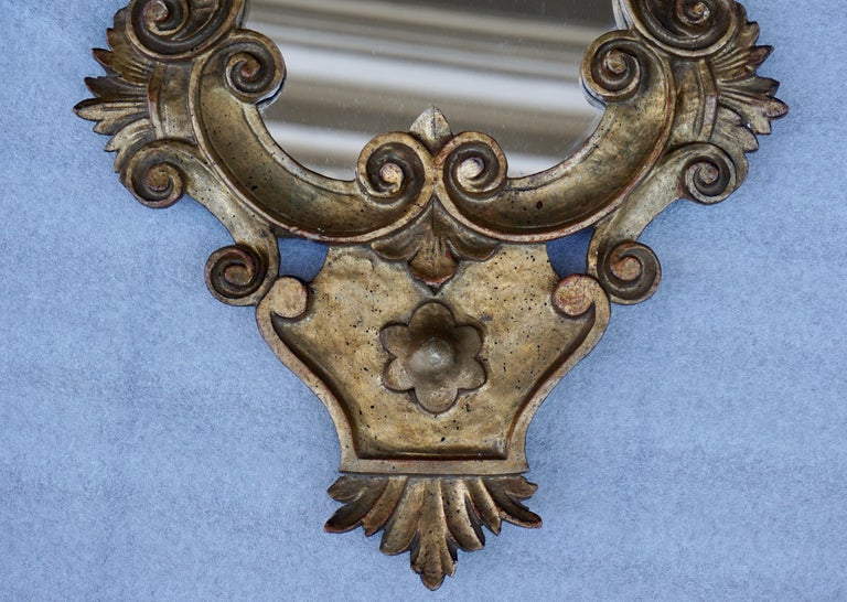 Carved Giltwood Mirror In Good Condition For Sale In Antwerp, BE