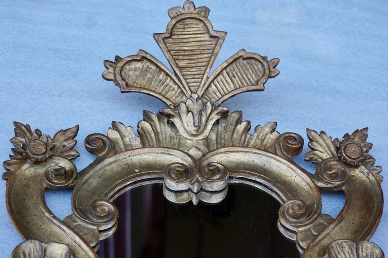 20th Century Carved Giltwood Mirror For Sale