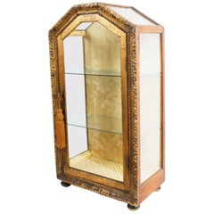 Carved Giltwood Vitrine, Late 18th Century