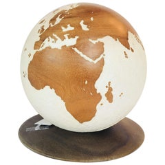 Carved Globe on Stand