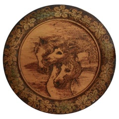 Carved Horses Wall Hanging by John B. Wikoff, 1905