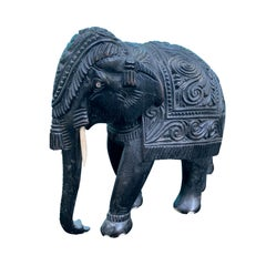 Carved Indian Elephant, circa 1900