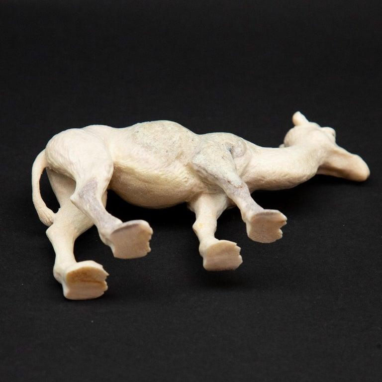 Indonesian Carved Moose Antler Camel For Sale