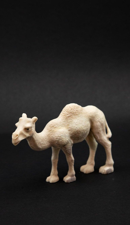 Carved Moose Antler Camel For Sale 1