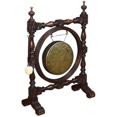 Carved Oak Dinner Gong