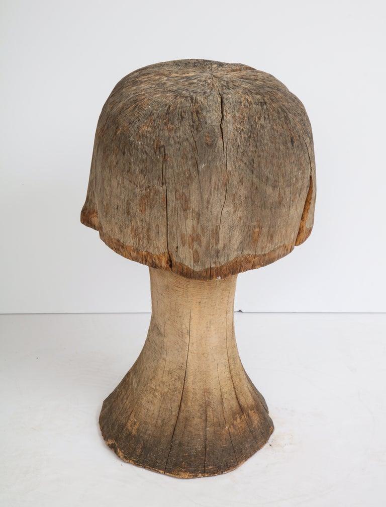 Carved Oak Mushroom For Sale 5