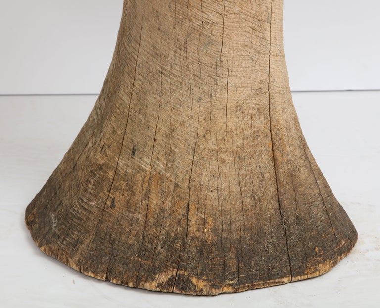 20th Century Carved Oak Mushroom For Sale