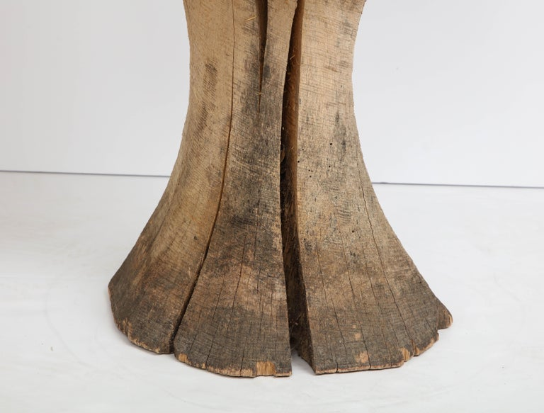 Carved Oak Mushroom For Sale 1