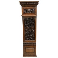 Carved Pilaster Cupboard