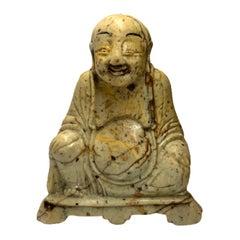 Carved Soapstone Buddha
