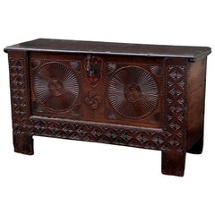 Carved Spanish Chest