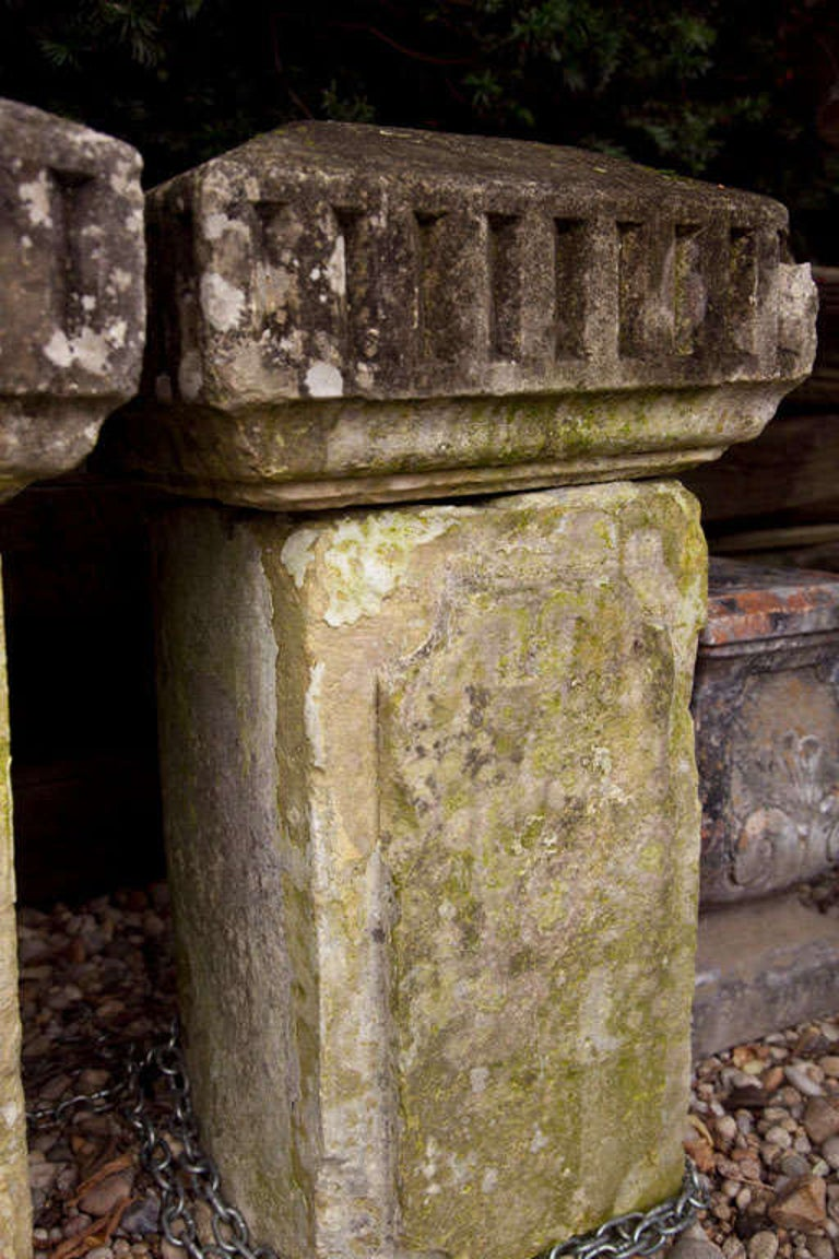 Carved Stone Columns For Sale 2