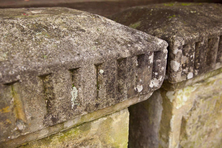Carved Stone Columns For Sale 3