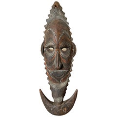 Carved Suspension Hook Figure Papua New Guinea