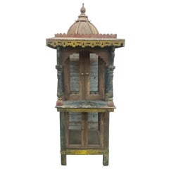 Carved Vintage Birdcage from India