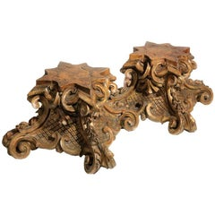 Carved Wood Bases
