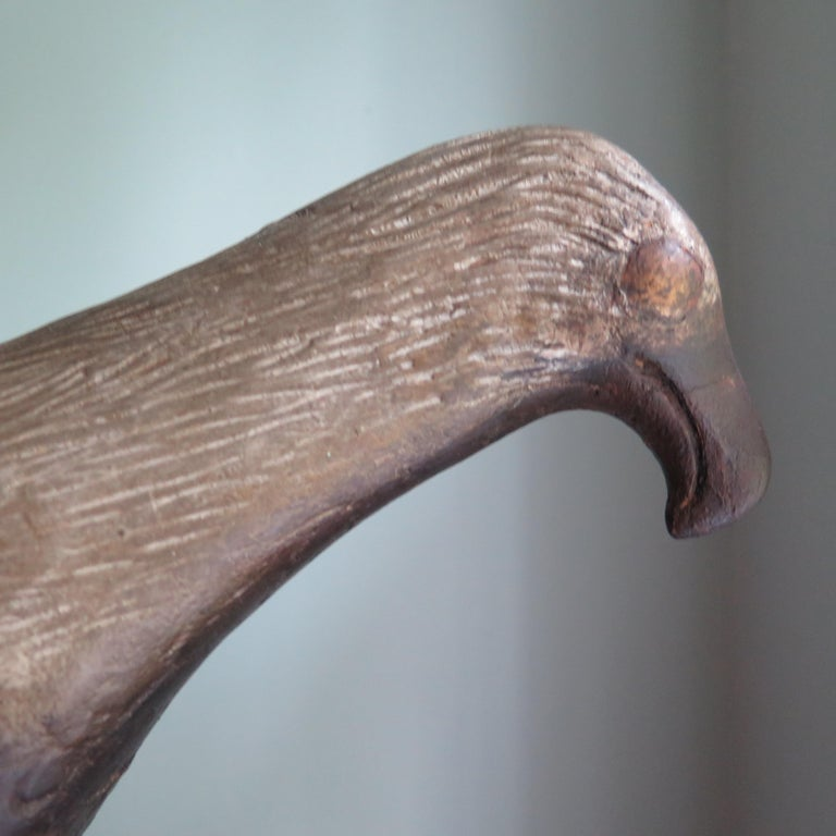 Carved Wood Folk Art Eagle by Axel Gustafson For Sale 2