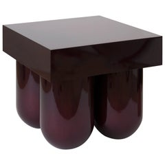 Carved Wood Set No. 5 Table by Müsing-Sellés