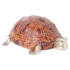 Carved Wood Turtle