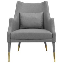 Carver Armchair in Gray