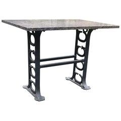 Carver Cotton Gin Company Industrial Base Table Massachusetts