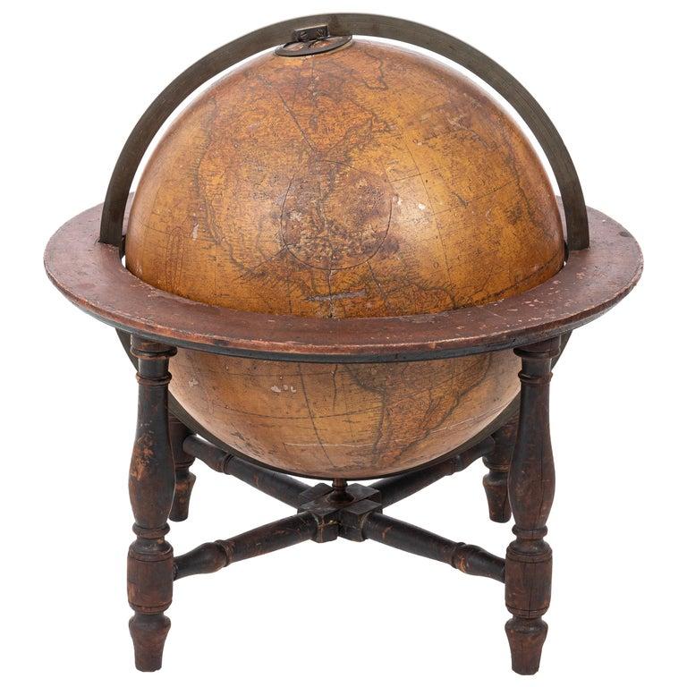 Cary Globe, London, circa 1830 For Sale