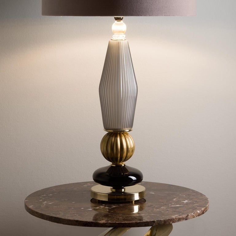 Italian Cary Table Lamp For Sale