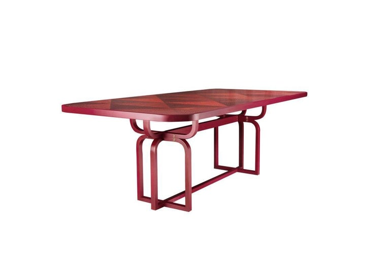 Italian Caryllon Dining Table by Cristina Celestino For Sale