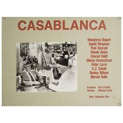 """Casablanca"" 1960s Swiss Scene Card"