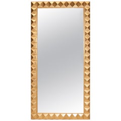 Casablanca Mirror in Gold Leaf by Badgley Mischka Home
