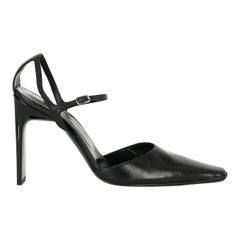 Casadei Woman Pumps Black Leather US 8