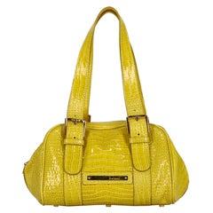 Casadei  Women   Handbags  Yellow Leather