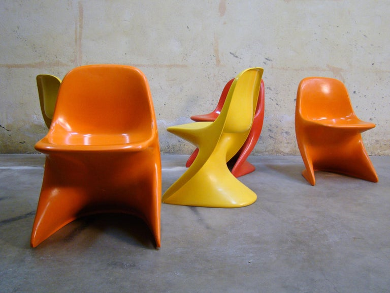 Casalino Child Chairs, 1977 Alexander Begge for Casala, Made in Germany In Good Condition For Sale In Denver, CO