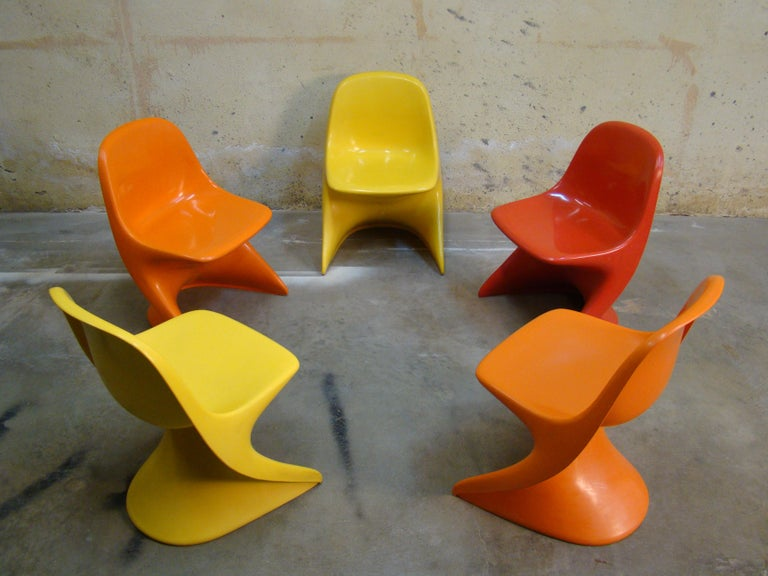 Late 20th Century Casalino Child Chairs, 1977 Alexander Begge for Casala, Made in Germany For Sale