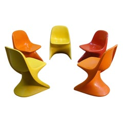 Casalino Child Chairs, 1977 Alexander Begge for Casala, Made in Germany