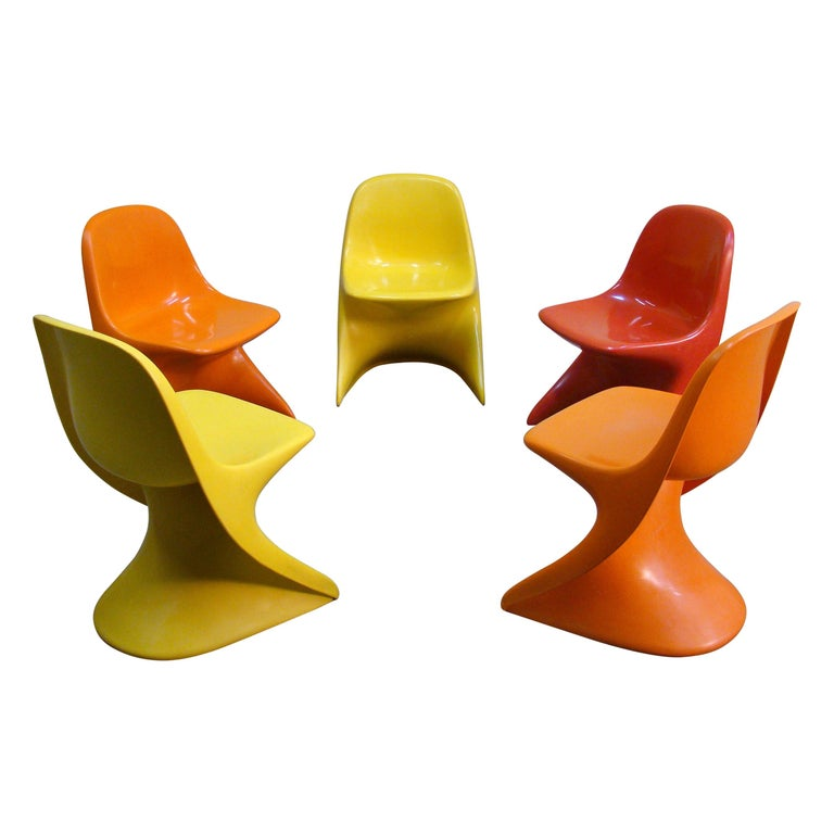 Casalino Child Chairs, 1977 Alexander Begge for Casala, Made in Germany For Sale