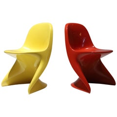 Red Casalino Childs Chair
