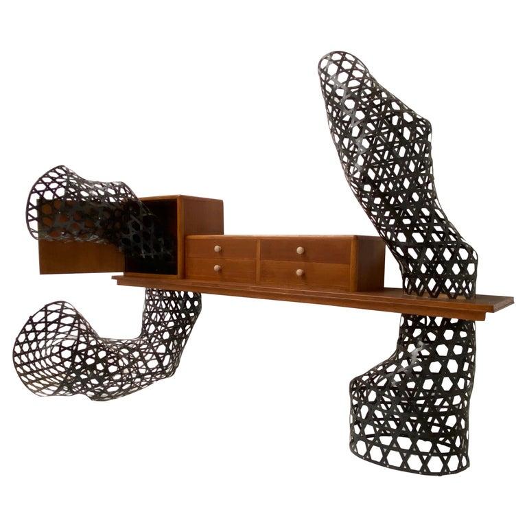 """Case Study Prototype """"Weaving"""" by Atelier Tejo Remy & Rene Veenhuizen For Sale"""
