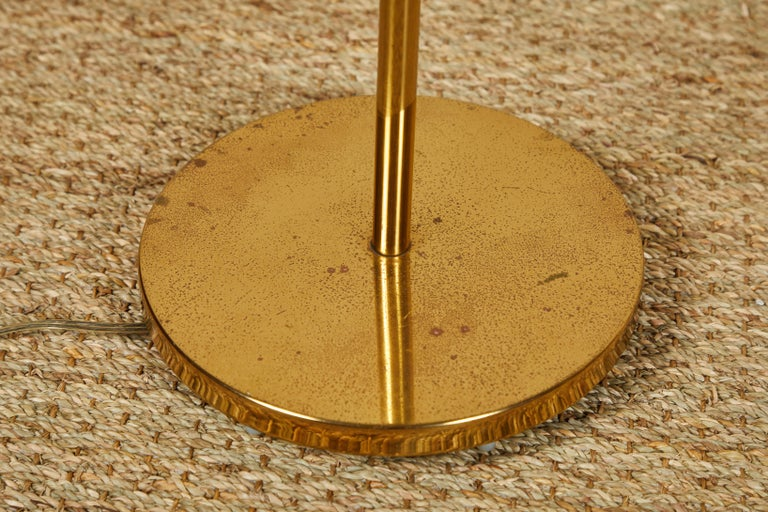 American Casella Brass Floor Lamps For Sale