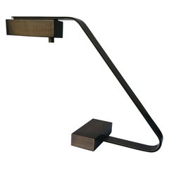 Casella, Flat Brass Cantilever Table/Desk Lamp