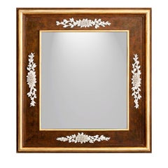 Casetta with Roses Mirror