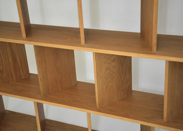 North American Contemporary Shelving Room Divider