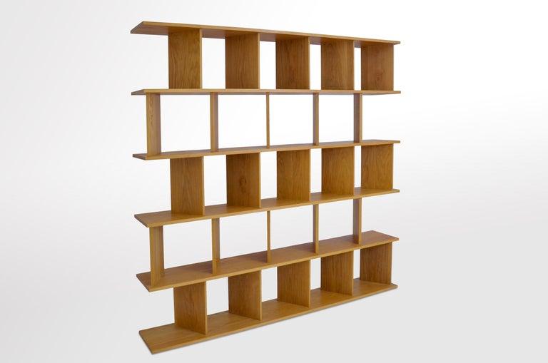 Part room divider, part screen, part bookcase,