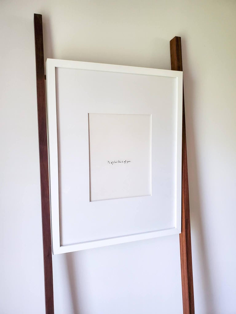 Imprints / I Am Yourself: Poem. Art wall installation   For Sale 1