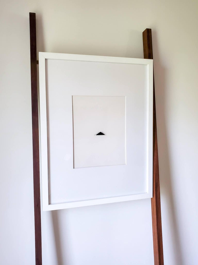 Imprints / I Am Yourself: Triangle. Art wall installation   - Contemporary Sculpture by Casey Waterman