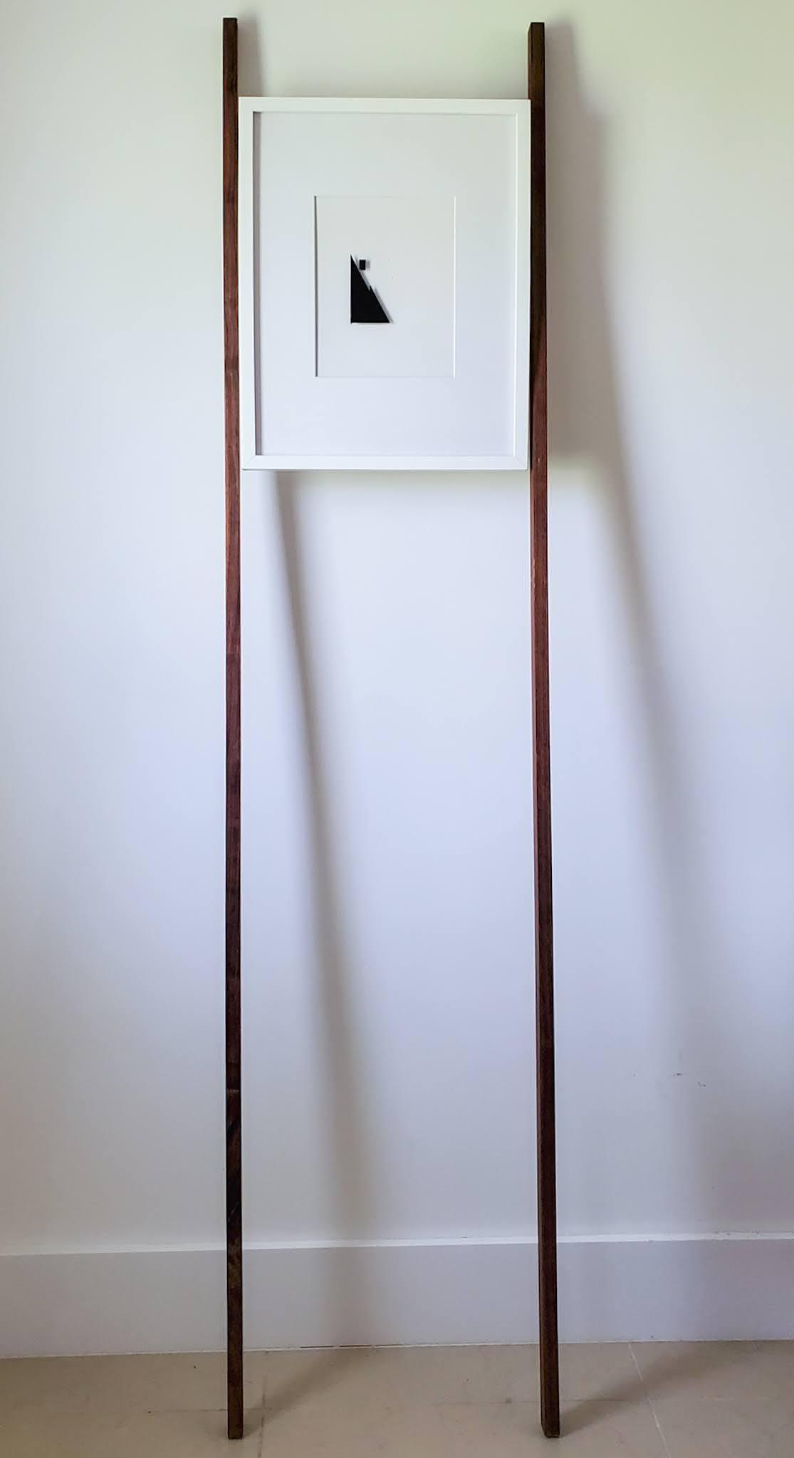 Imprints / I Am Yourself: Window. Art wall installation
