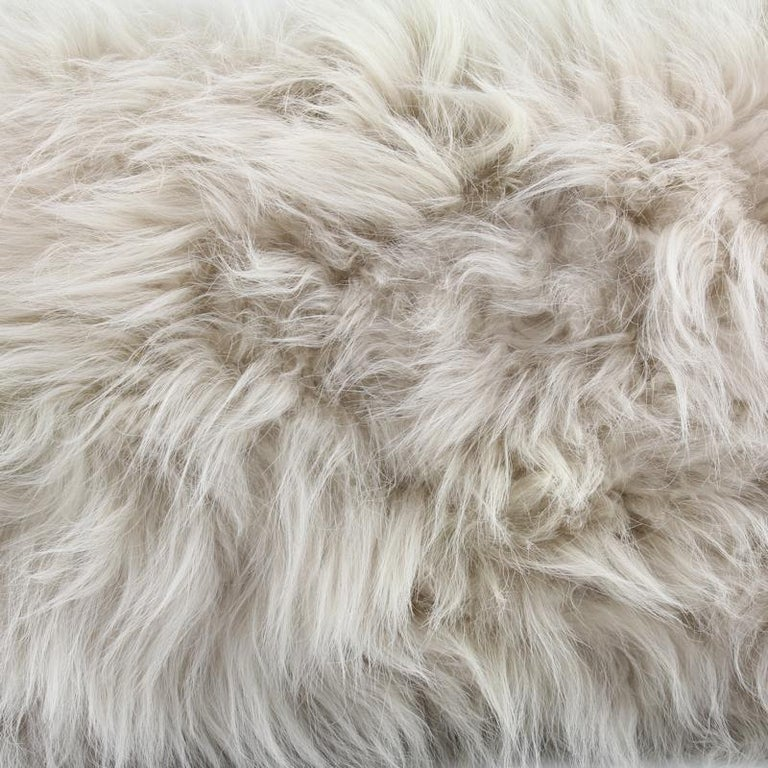 Add lush and comforting textures to your living room or bedroom by draping this genuine cashmere fur throw over your bed, chair or sofa. During the colder seasons add a little warmth over the legs whilst watching TV and indulge in the supreme