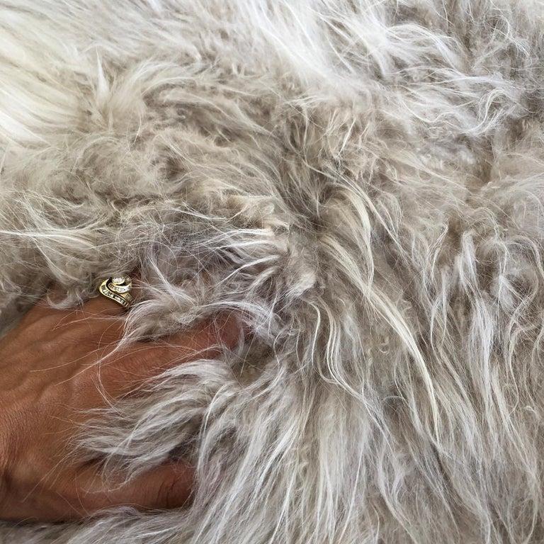 Australian Cashmere Fur Sofa Bed Throw Blanket For Sale