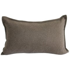 Cashmere Lumbar Pillow in Cocoa